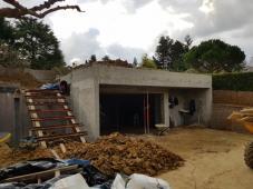 Création d'un garage à Saint Cyr au Mont d'Or (69)