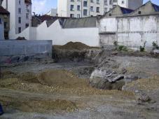 Création d'un immeuble de logements + une crèche
