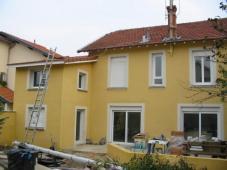 Réhabilitation d'une villa à VILLEURBANNE