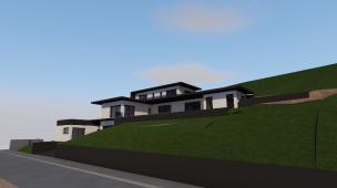 Création d'une villa à Beausemblant (26)