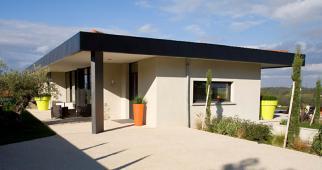 Conception d'une villa contemporaine