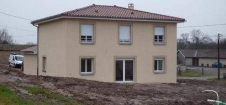 Construction de la villa à CIERCE