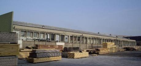 Construction d'un hangar à VENISSIEUX