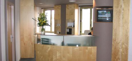 Aménagement de différents espaces de la banque de Vizille
